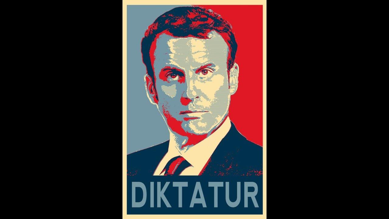 foto de Macron : le dictateur (Gilets Jaunes espionnés