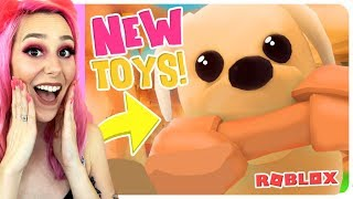 *NEW RARE TOYS + MAP*  NEW Adopt Me Pet Shop Update! (Roblox)