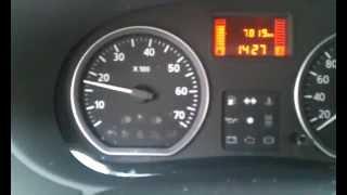 Высокие обороты при запуске двигателя на холодную на Nissan Almera 2014