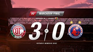 Resumen Toluca Vs Veracruz J16 Clausura 2018