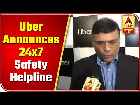 Uber Announces 24x7 Safety Helpline For Riders In India | ABP News