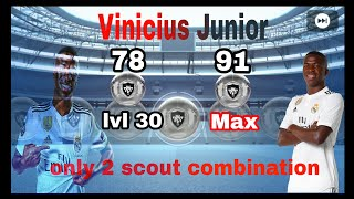 Vinicius junior pes 19 scout video