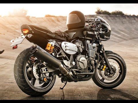 Yamaha XJR 1300 Racer - YouTube