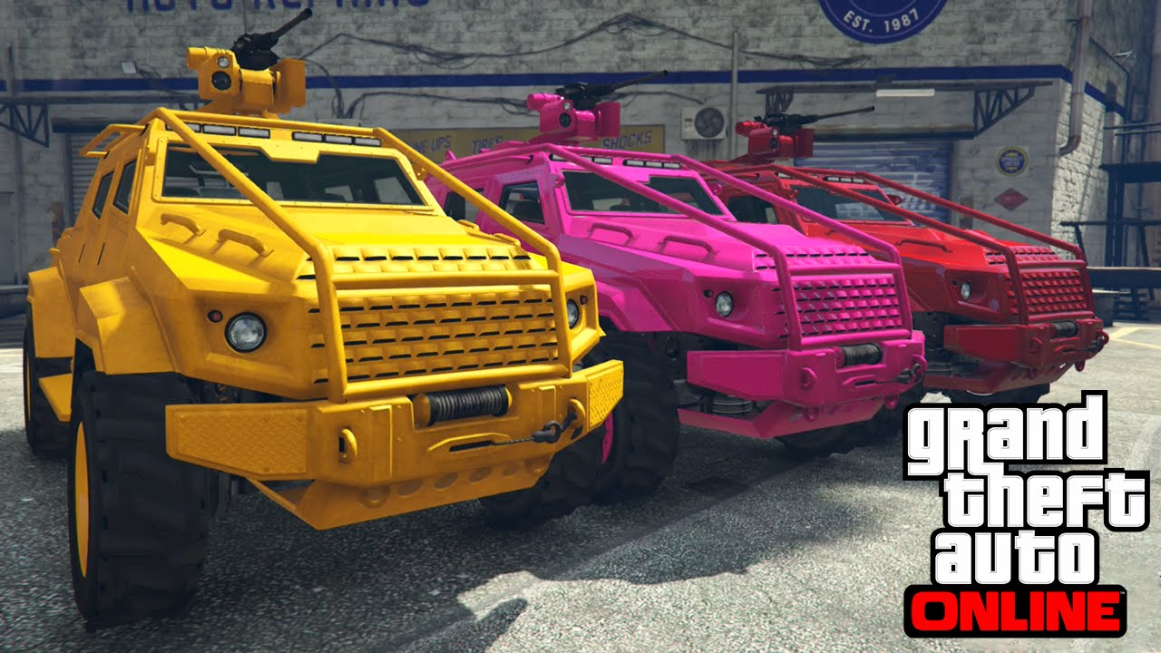 GTA 5 Online Heist Vehicles - How to Use Heist Cars And Vehicles For ...