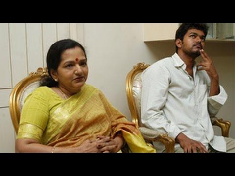 Vijay's mother shobha clears, reason behind Vijay's calm
