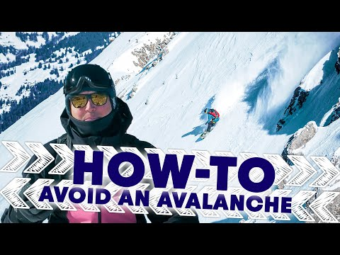 How to avoid avalanche danger w/ Xavier de le Rue.