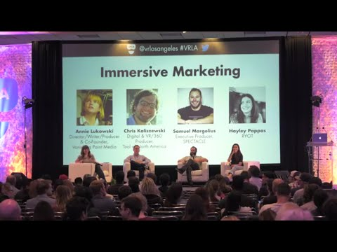VRLA Summer Expo 2016: Immersive Marketing