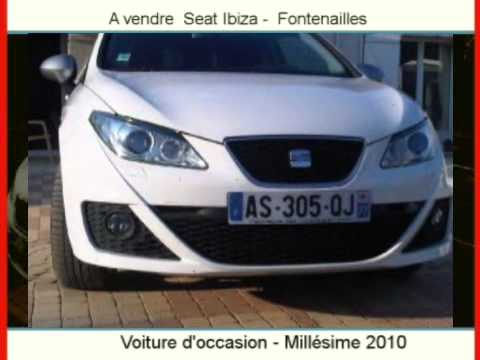 achat vente une voiture occasion seat ibiza fontenailles youtube. Black Bedroom Furniture Sets. Home Design Ideas