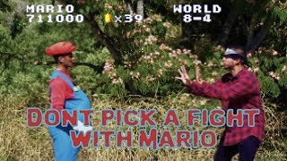 Don't Pick a Fight With Mario | David Lopez