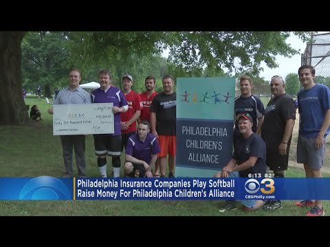 Philly Insurance Companies Play Softball For Charity