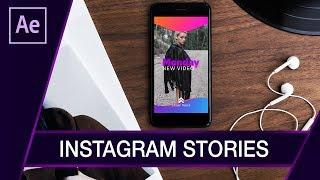 Jak zrobić własne Instagram Stories? ▪ After Effects #59 | Poradnik ▪ Tutorial