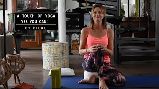 A touch of yoga - Yes you can - Bieke Ilegems