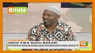Heko kwa Nuhu Bakari kwa kushinda shindano la kimataifa la taaluma ya tafsiri