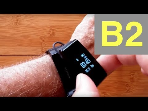 HUAWEI TalkBand B2 Combo Smart Bracelet / Earphone Multi Mode Sport Wristband: Unboxing & Review