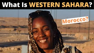 What is WESTERN SAHARA? (Morocco?)