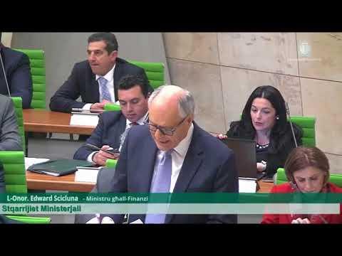 Edward Scicluna Ministerial Statement 21.03.2018