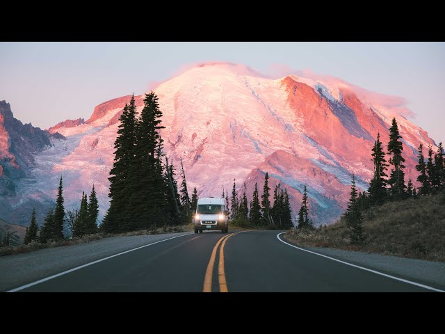 Van Life | Day in the Life | Mount Rainier