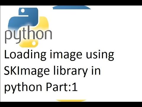 Python tutorial: SKImage to load image data and basic image manipulation