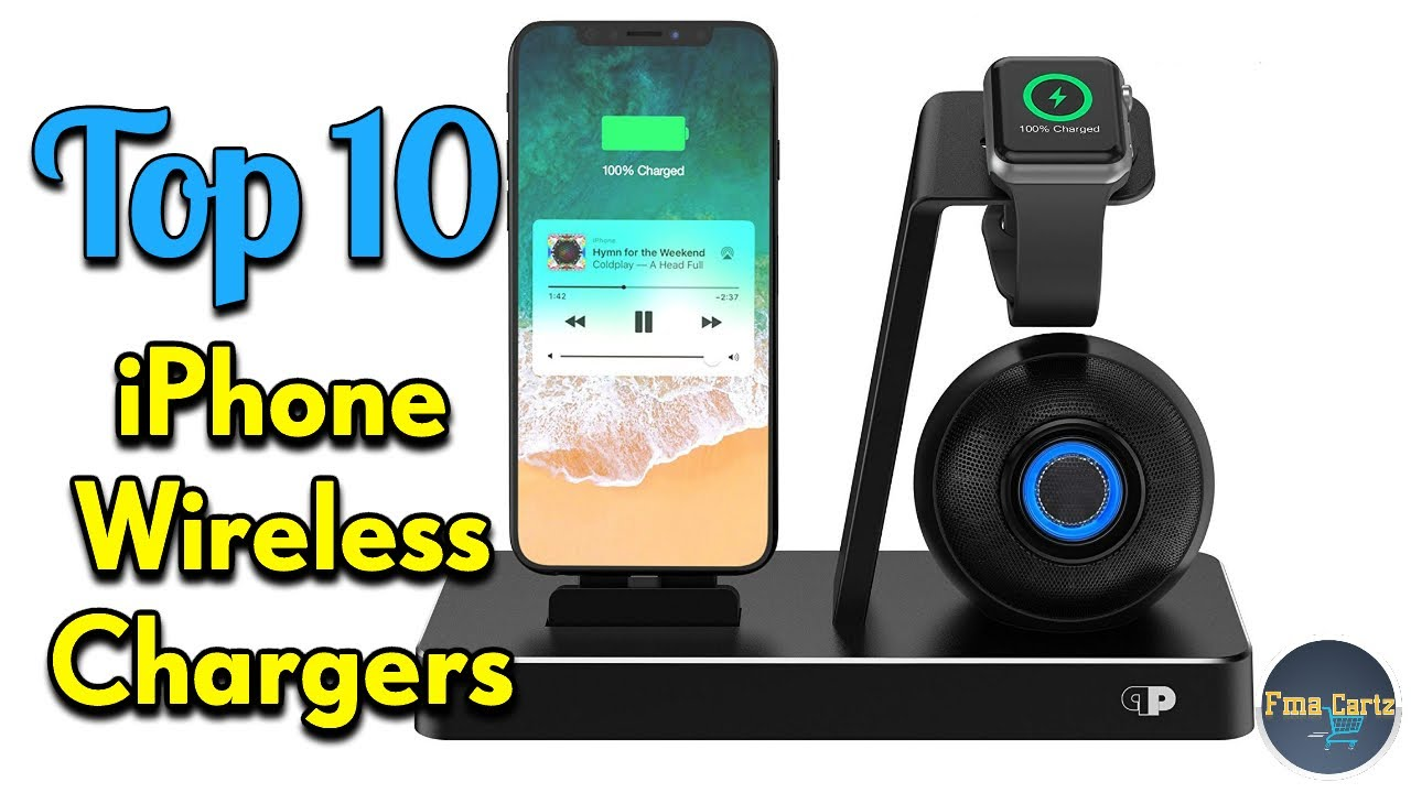 new concept 1a8e7 c3ec0 Iphone Wireless Charger | 10 Best Iphone X chargers 2018 (Make your  Charging Easy)