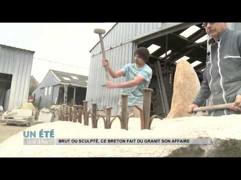 MADE IN FRANCE : Brut ou sculpté, ce breton fait du granit son affaire