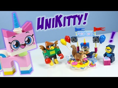 LEGO UniKitty! Party Time Stop Motion Review Cartoon Network 2018