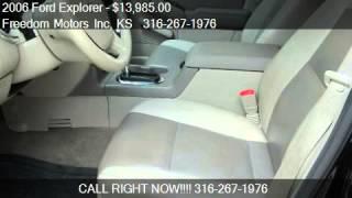 2006 Ford Explorer XLT 4.6L 4WD - for sale in Wichita, KS 67