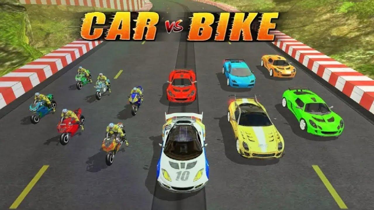 Car Vs Bike Racing Android Gameplay Free Games Download Racing