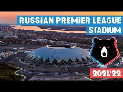 Russian Premier League Stadium 2021/22 Russia