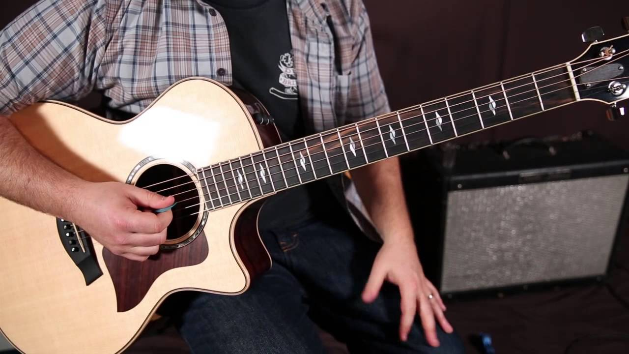 Bluegrass Guitar Lesson: The Basic Scale for Bluegrass Guitar, G ...