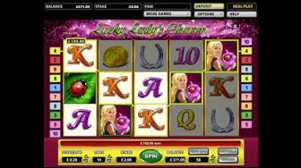 Lucky Lady's Charm Multi Re-Triggers @ £2 Stake - Novomatic