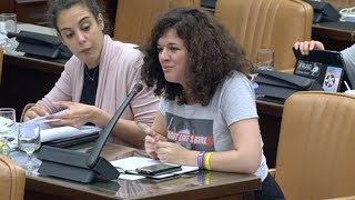 Sofía Castañón en la Comisión de Economía, Industria y Competitividad