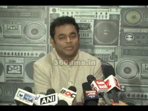 A.R.Rahman Excited for Hollywood Pop star Justin Bieber Concert