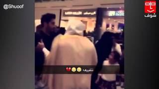 #شوف | لحظة قبض رجال الهيئة على ممثل كويتي عبدالعزيز كسار #الرياض