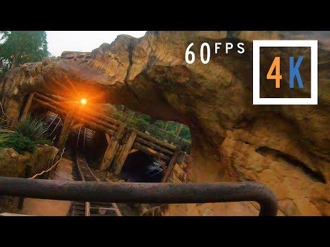 Big Grizzly Mountain Runaway Mine Cars • Hong Kong Disneyland (4K 60fps Onride POV)