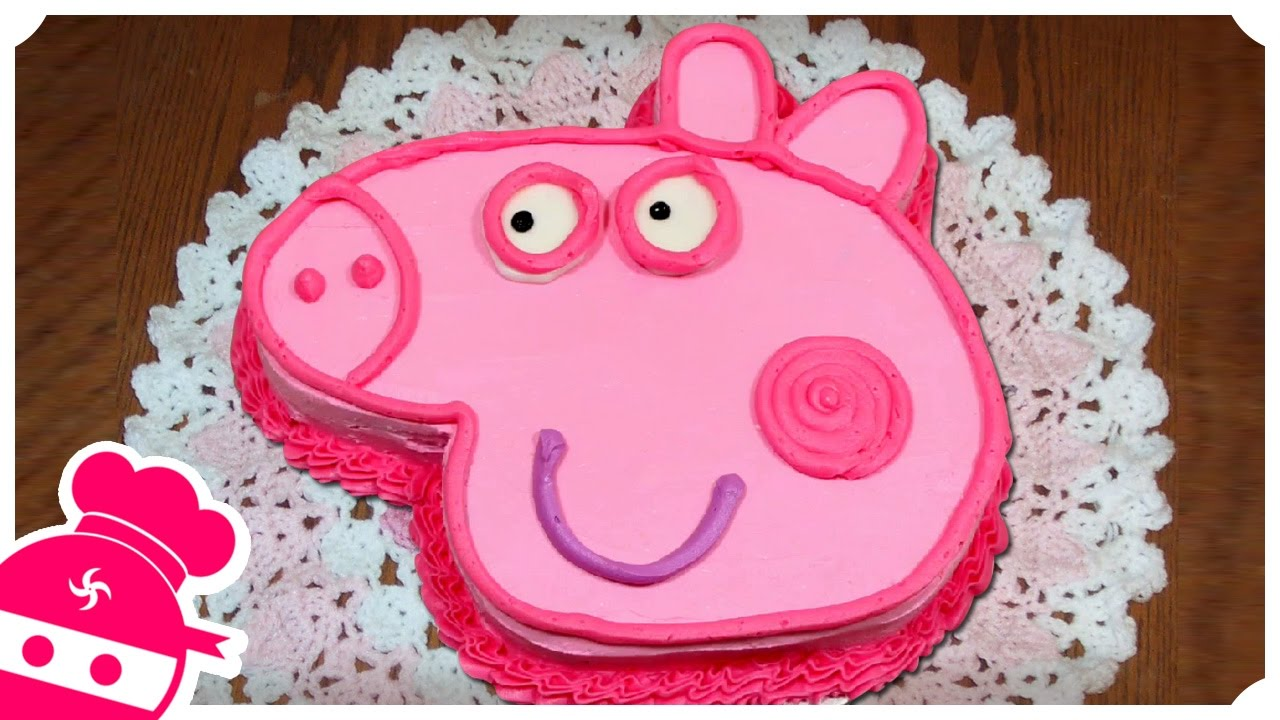 Peppa Pig Birthday Cake Diy Quick And Easy Recipes Fun Food For
