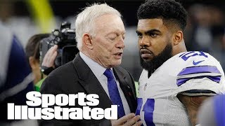 Jerry Jones: No Evidence Of Domestic Violence In Ezekiel Elliott Case | SI Wire | Sports Illustrated