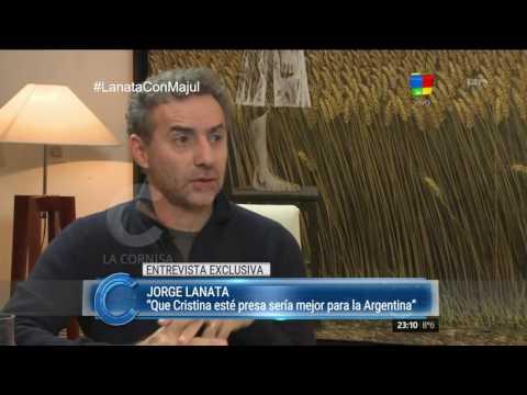 Jorge Lanata: Mencionar a Magnetto en los Martín Fierro fue un acto de justicia