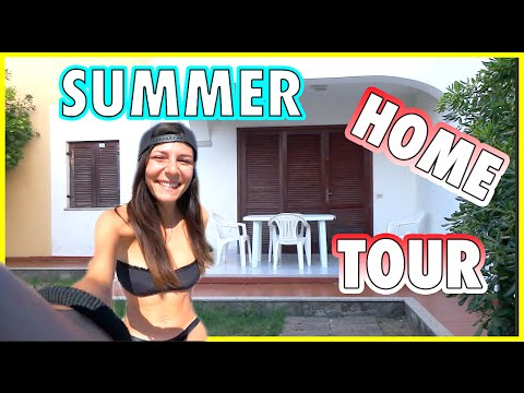 SUMMER HOME TOUR | Nadia Tempest | Travel VLOG #3 👙