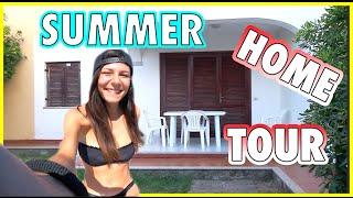 SUMMER HOME TOUR | Nadia Tempest | Travel VLOG #3