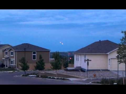 UFO(s) Near NORAD in SW Colorado Springs, CO