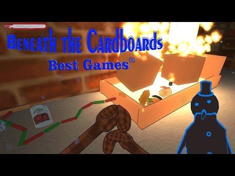 Обзор Beneath The Cardboards 2016 [симулятор бездомного]