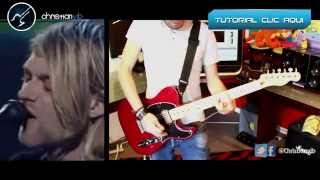 Pennyroyal Tea NIRVANA  Cover Guitar Solo Demo Christianvib