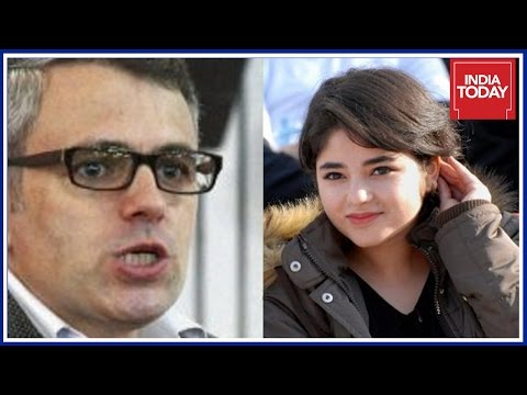 Omar Abdullah Reacts To Zaira Wasim's Apology On Social Media