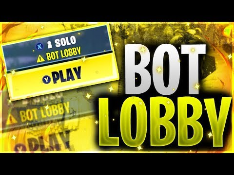 How To Get Into *BOT LOBBIES* In Fortnite Chapter 2 | Fortnite Small Lobbies Glitch Chapter 2📉