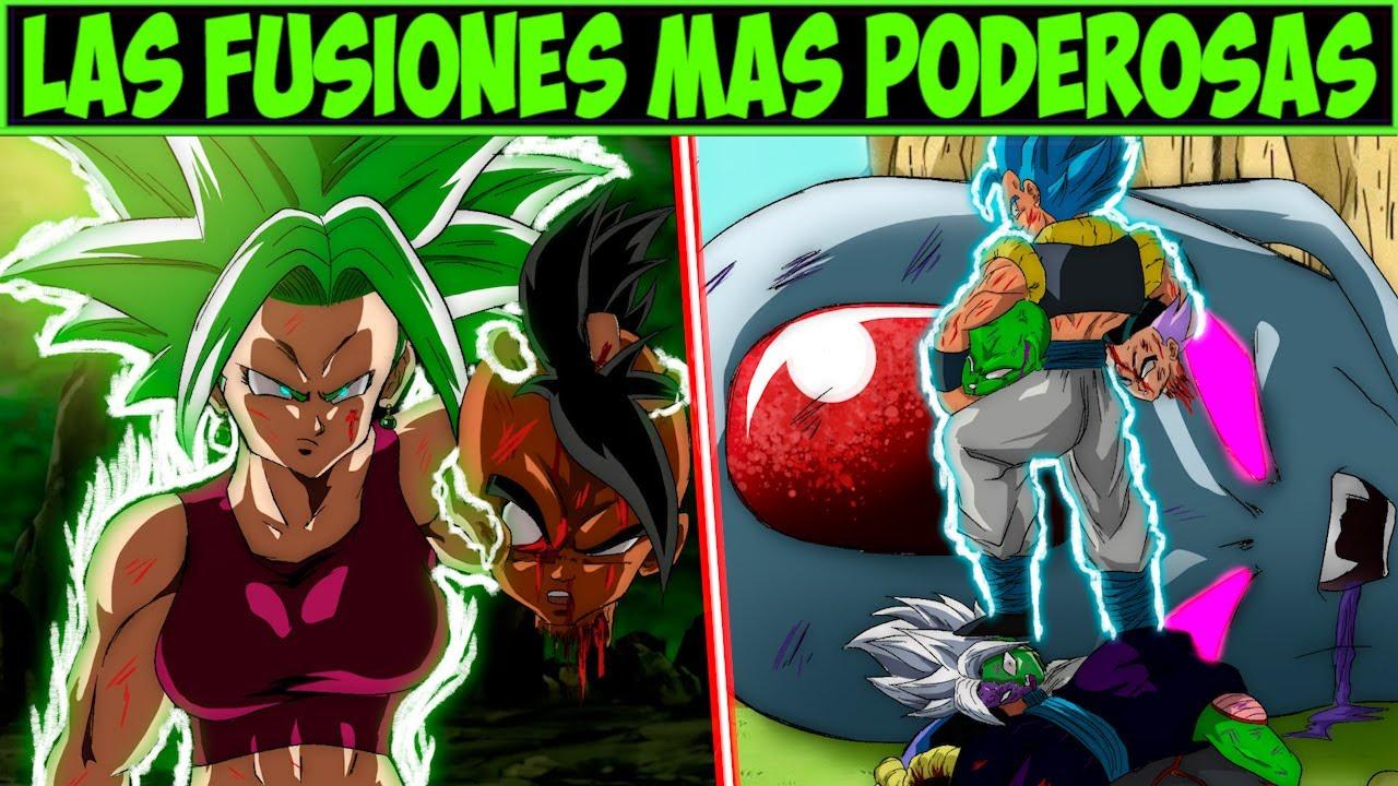 Explicación: Los DIFERENTES Tipos de Fusión y sus Niveles de Poder - Dragon Ball Super.