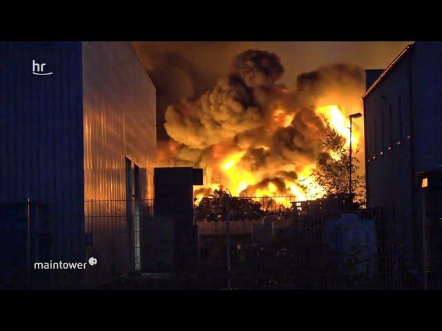 650 Feuerwehrleute im Kampf gegen die Flammen   maintower