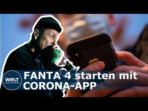 Fanta 4 - Eigene Corona-App für Kulturbranche