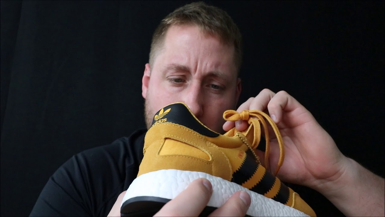 Adidas Iniki GOLDENROD review and on feet!!!!!!!!!!!! - YouTube eb694c7f2