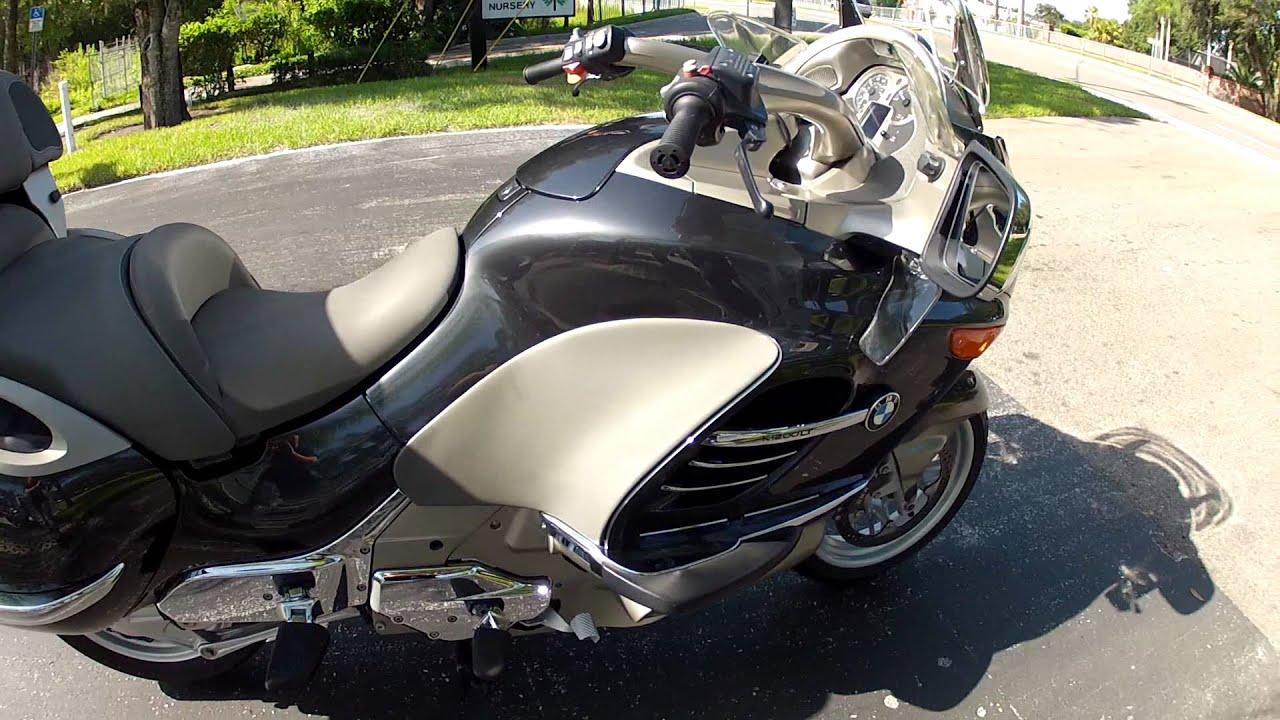 2005 Bmw K1200lt Grey At Euro Cycles Of Tampa Bay Youtube
