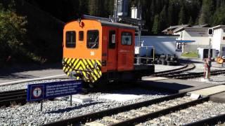 RhB Schienentraktor TM 2/2 26 Shutning in Arosa